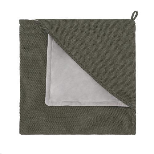 Omslagdoek soft Classic khaki