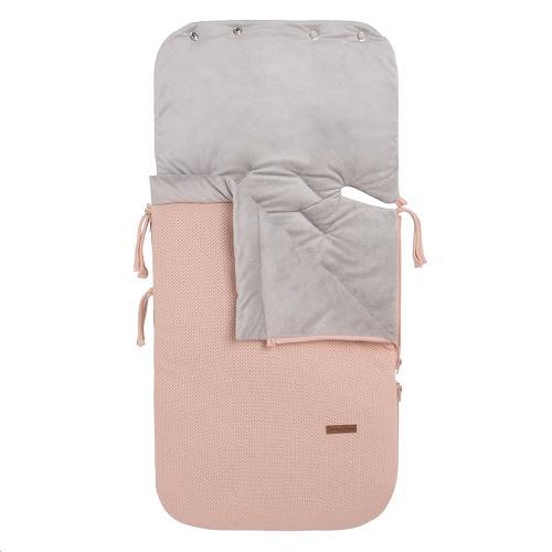 Voetenzak autostoel 0+ Classic blush