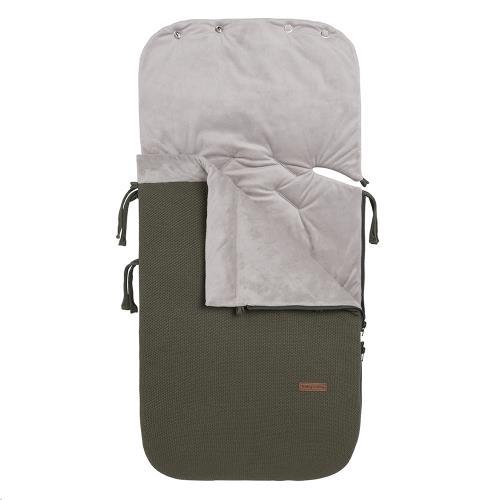 Voetenzak autostoel 0+ Classic khaki