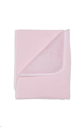 Wiegdeken 80x100 cm soft pink