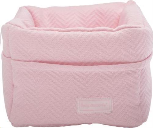 Opbergmandje soft pink