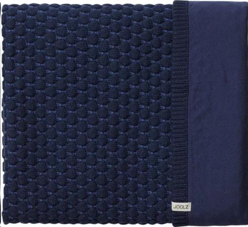 Essentials deken honeycomb blue