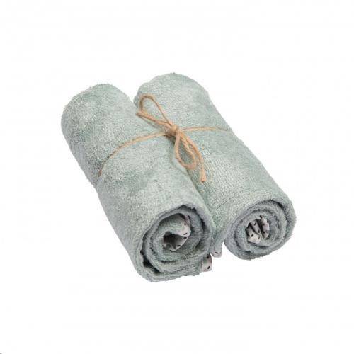 handdoeken (medium) sea blue 2-pack