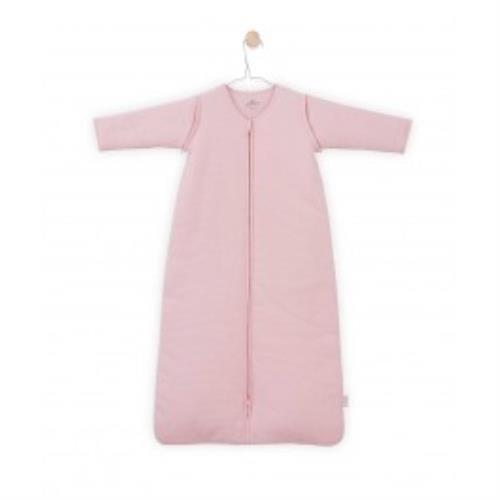 Baby slaapzak 110cm Tiny waffle soft pink met afritsbare mouw