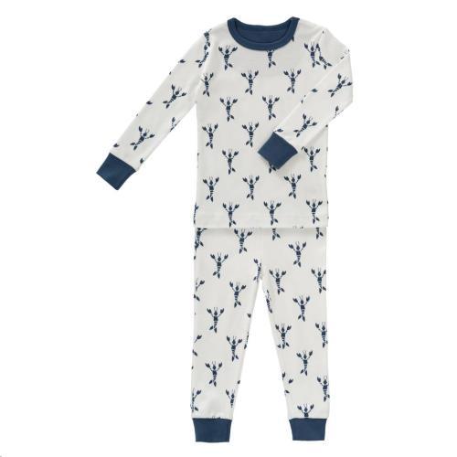 2-Delige pyjama Lobster indigo blue maat 1 jaar