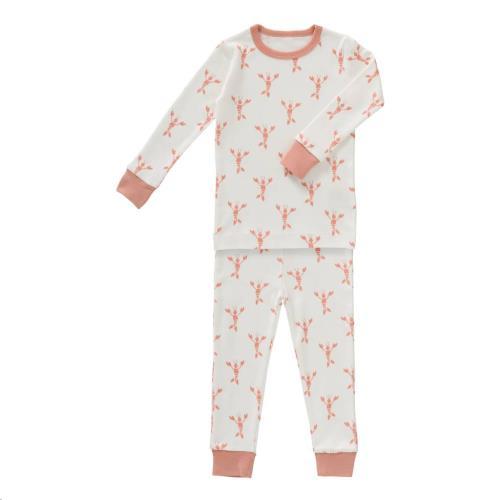 2-Delige pyjama Lobster coral maat 1 jaar