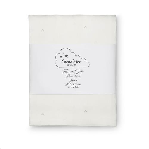 Laken Junior - GOTS Dot Creme Grey