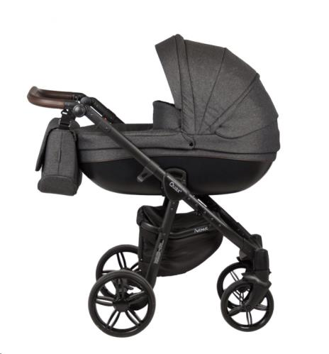 AVENUE KINDERWAGEN - LINEN BLACK
