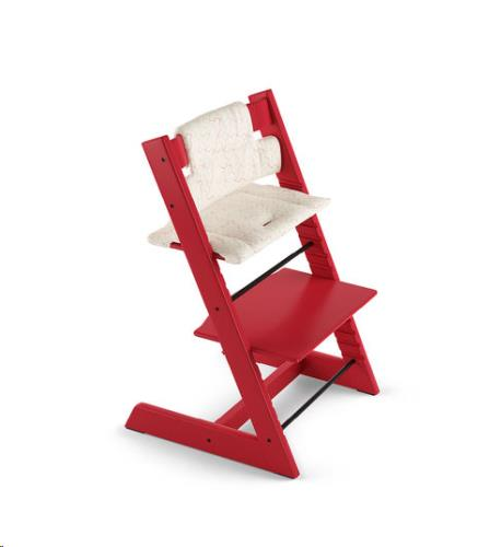 Tripp Trapp Classic kussen Geometric Red (Organic Cotton)