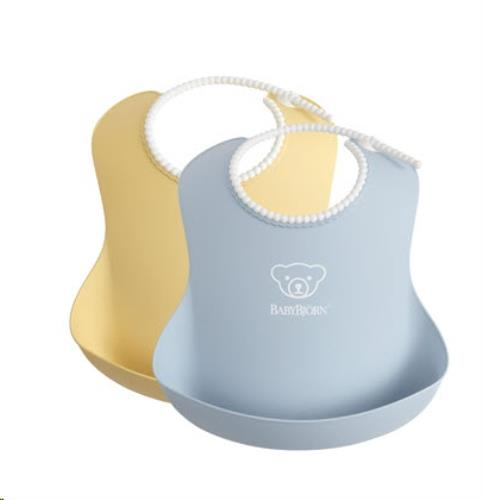 Baby Slab duopack Pastelgeel/Pastelblauw