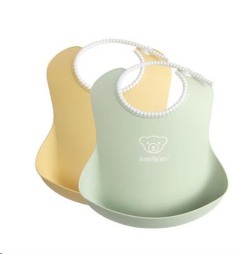 Baby Slab duopack Pastelgeel/Pastelgroen