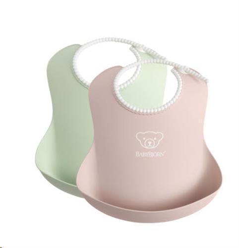 Baby Slab duopack Pastelgroen/Pastelroze