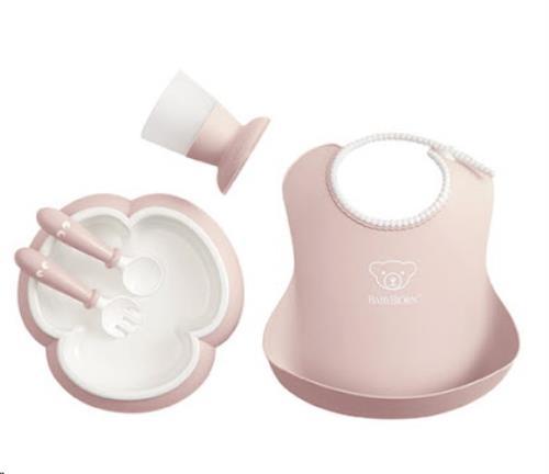 Baby Eetset Pastelroze