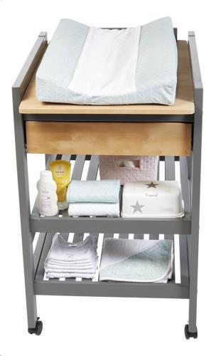 Troll Loft verzorgingstafel Duo-kleur geolied wit
