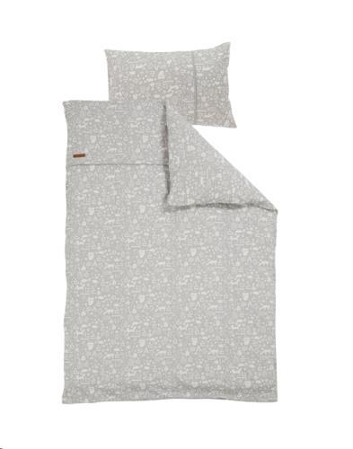 1 pers. dekbedovertrek - adventure grey