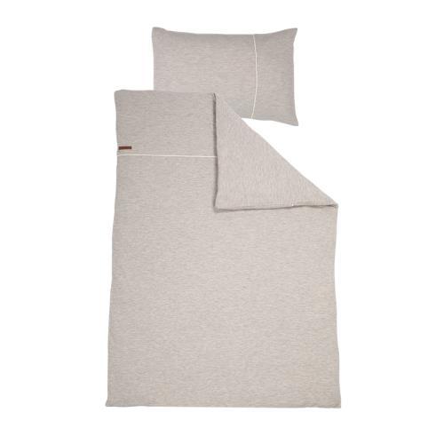 1 pers. dekbedovertrek - pure grey