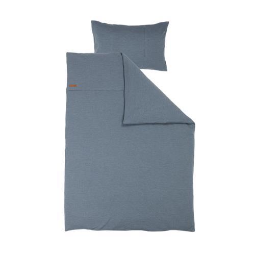 1 pers. dekbedovertrek - pure blue