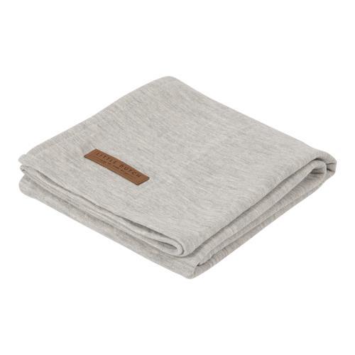 Swaddle doek 120 x 120 - pure grey
