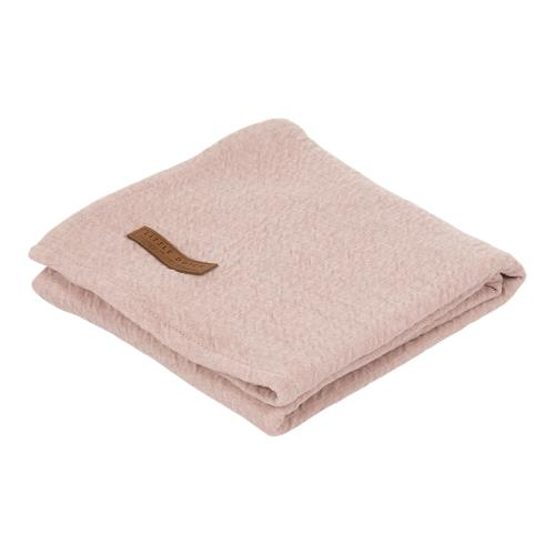 Swaddle doek 120 x 120 - pure pink
