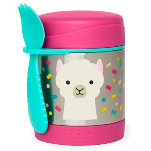 Zoo Insulated Food Jar / lunchbox Lama