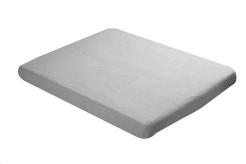 Hoeslaken stretch grijs 40x80
