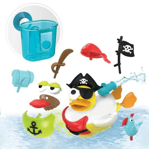 Yookidoo - Badspeelgoed - Jet Duck - Create a Pirate - One size