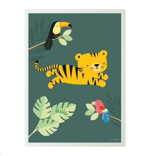 Poster: Jungle Tiger