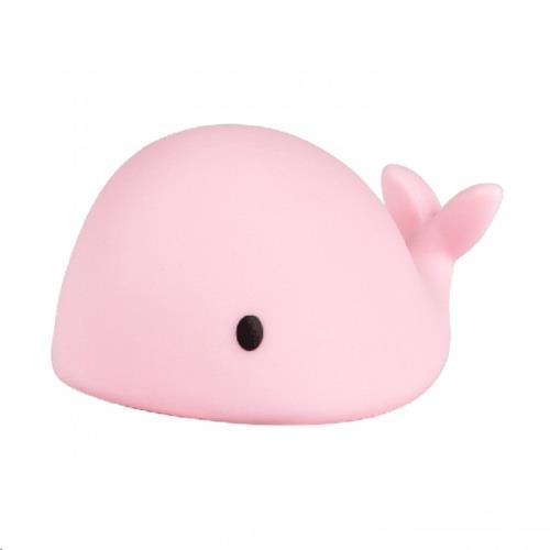 Flow nachtlamp - Moby mini - pink