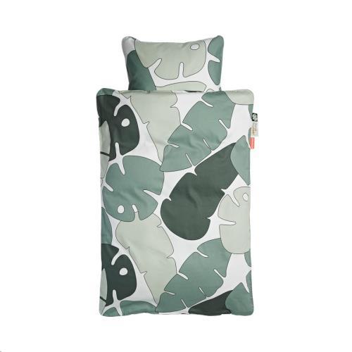 Bedlinen, baby, Tiny tropics, 70 x 100 cm, Pillow 40 x 45 cm