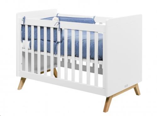 BED 60x120 FENNA WIT/NATUREL
