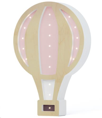 SABO BALLOON WOODEN & LIGHT PINK