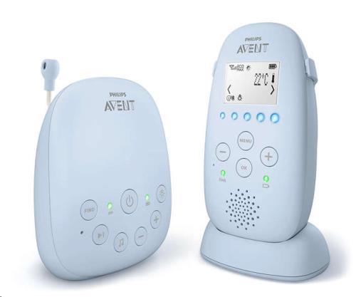Babyfoon SCD725/26 extra batterij