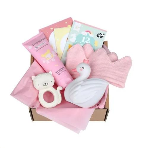 Baby gift box: Welcome little girl (XL)
