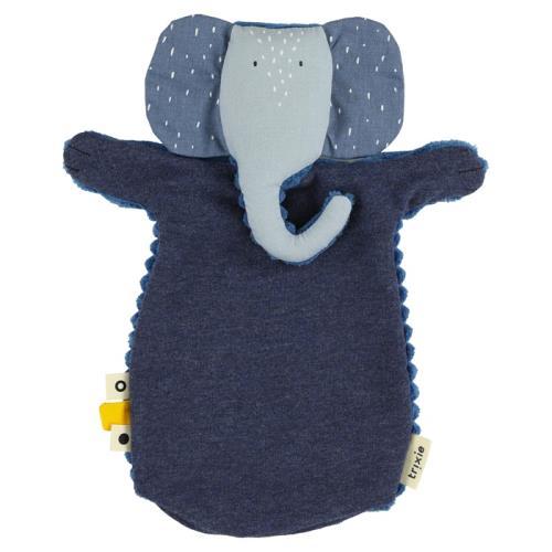 Speelgoed | Handpop - Mrs. Elephant - 24-289