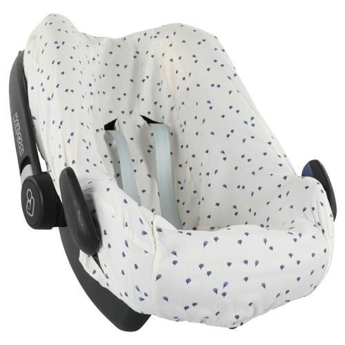 Hoes autostoel | Pebble(Plus)/Rock - Leaves - 84-087