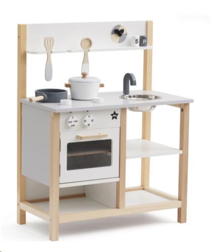 Keuken natural/wit