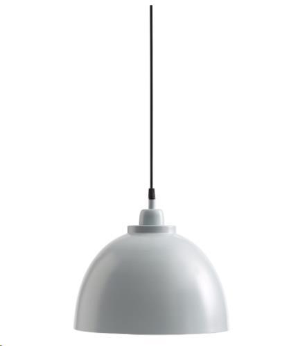 Hanglamp metaal blauw/grijs