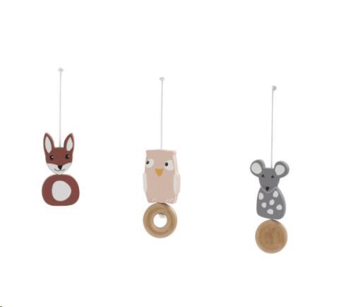 Babygym houten speelfiguren Edvin